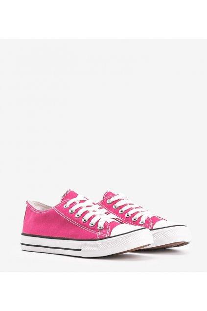 Dámske topánky tenisky ružové kód LD8A07 - GM