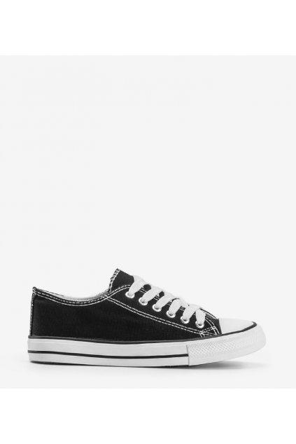 Dámske topánky tenisky čierne kód LD8A07 - GM