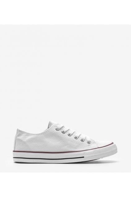 Dámske topánky tenisky biele kód LD8A07 - GM