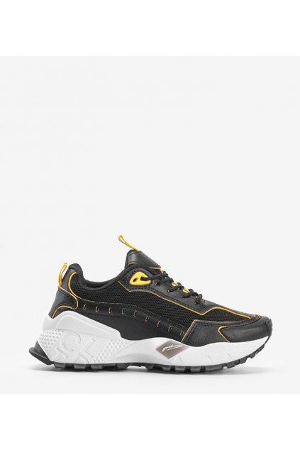 Dámske topánky tenisky čierne kód B3658-07 - GM