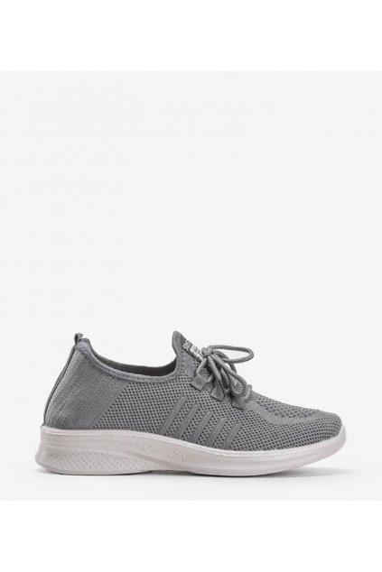 Dámske topánky tenisky sivé kód LY103-3 - GM