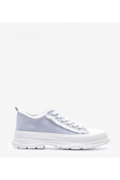 Dámske topánky tenisky modré kód H2059C - GM