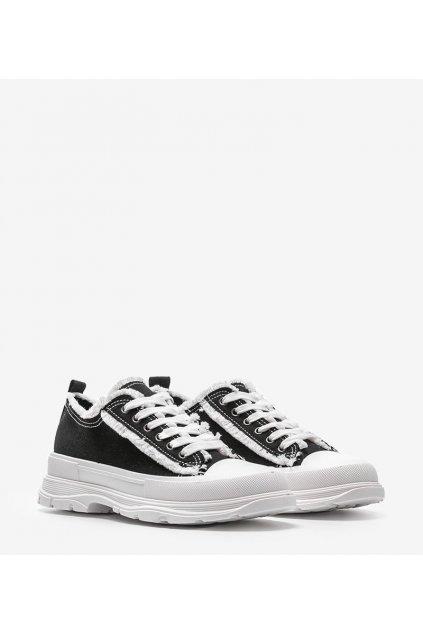 Dámske topánky tenisky čierne kód H2059A - GM