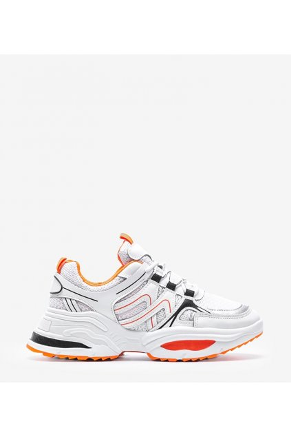 Dámske topánky tenisky biele kód RAL-58 - GM
