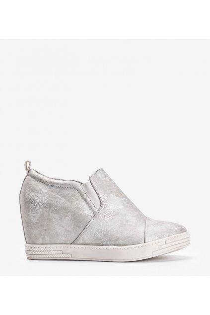 Dámske topánky tenisky biele kód TL-12 - GM