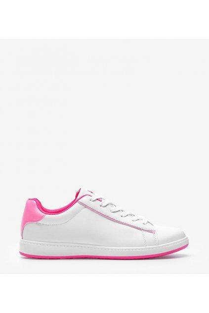 Dámske topánky tenisky biele kód 6303 - GM
