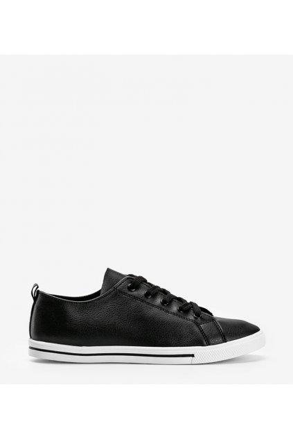 Dámske topánky tenisky čierne kód 6268 - GM