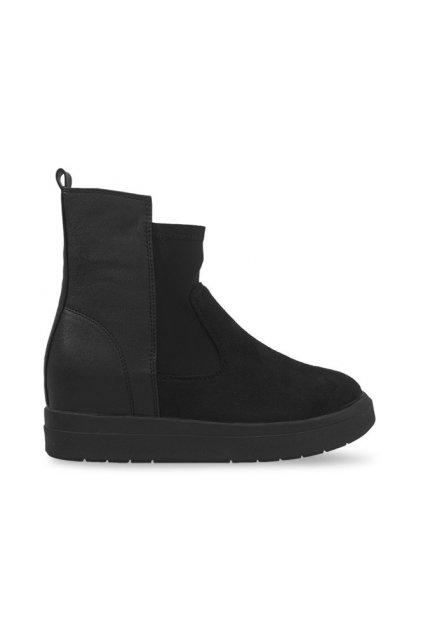 Dámske topánky tenisky čierne kód 8318 - GM