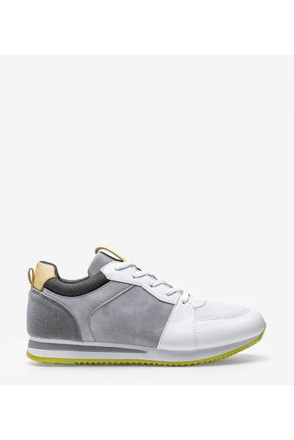Dámske topánky tenisky biele kód B0-546 - GM