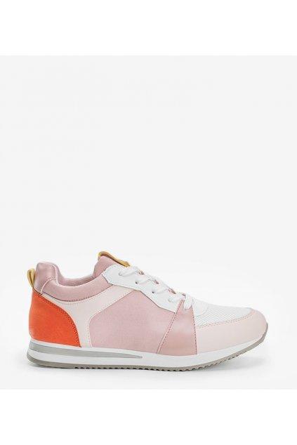 Dámske topánky tenisky ružové kód B0-546 - GM