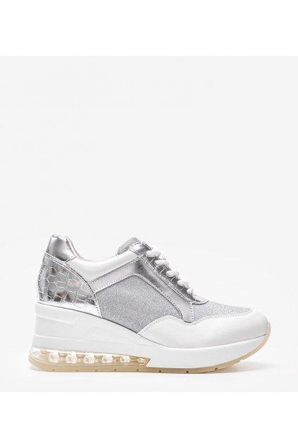 Dámske topánky tenisky biele kód RQ288 - GM