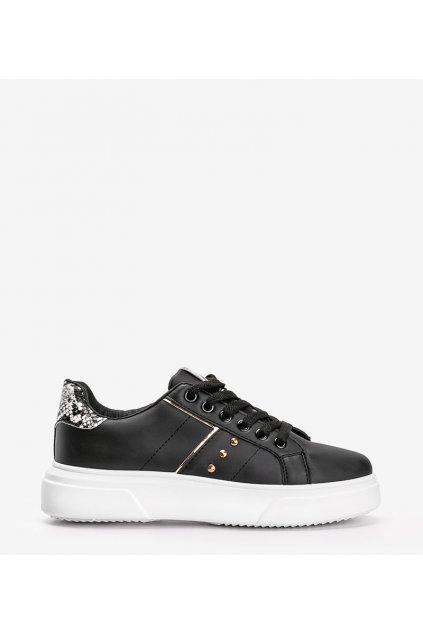 Dámske topánky tenisky čierne kód CC-19 - GM