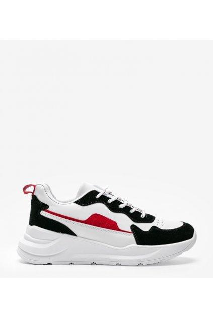 Dámske topánky tenisky biele kód BOK17 - GM