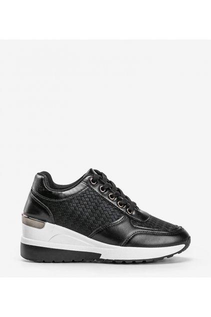 Dámske topánky tenisky čierne kód MY-2717 - GM