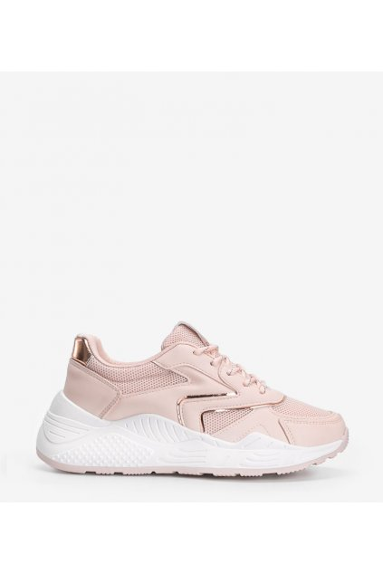Dámske topánky tenisky ružové kód GB-003 - GM
