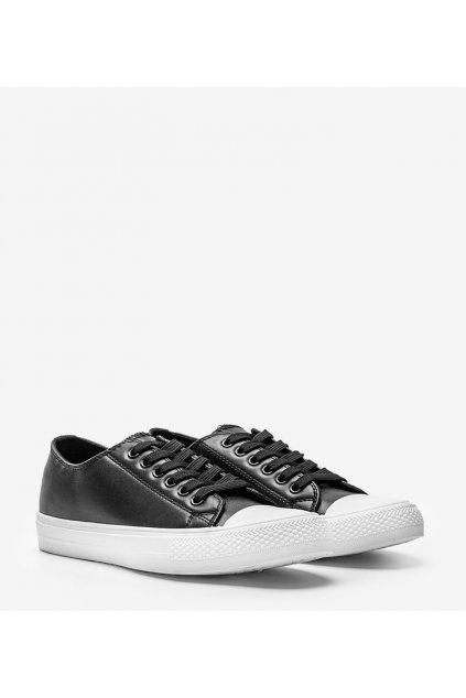 Dámske topánky tenisky čierne kód 6227 - GM