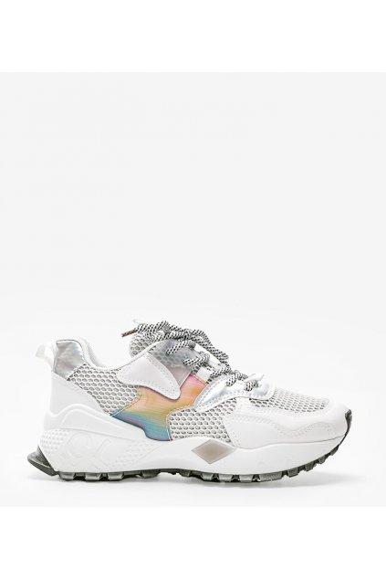 Dámske topánky tenisky biele kód BOK05 - GM