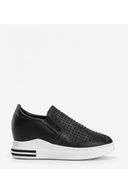 Dámske topánky tenisky čierne kód HY-251 - GM