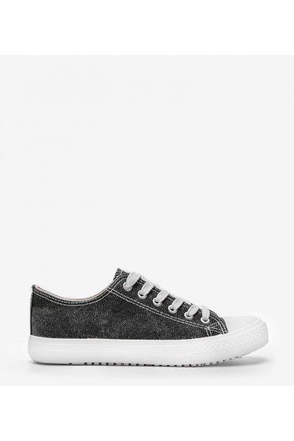Dámske topánky tenisky čierne kód S-3 - GM