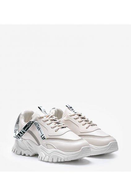Dámske topánky tenisky hnedé kód 9935 - GM