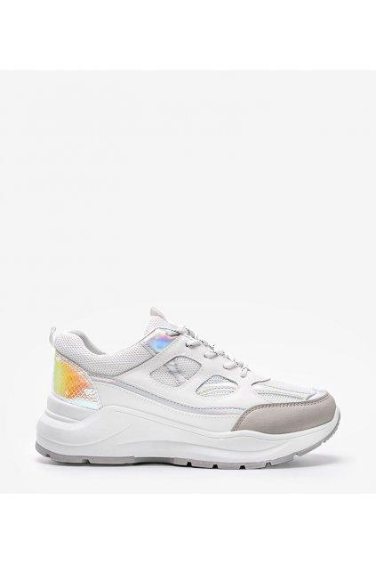Dámske topánky tenisky biele kód FF-1 - GM