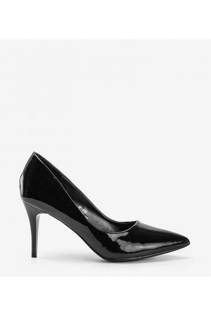 Dámske topánky lodičky čierne kód NF-07P - GM