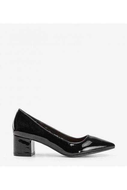 Dámske topánky lodičky čierne kód 3839-1 - GM