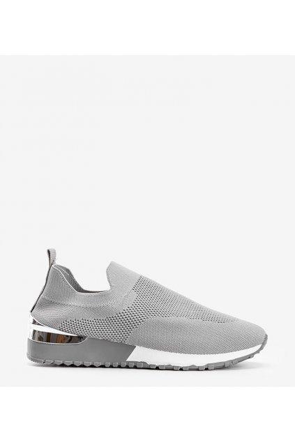 Dámske topánky tenisky sivé kód 810-9 - GM