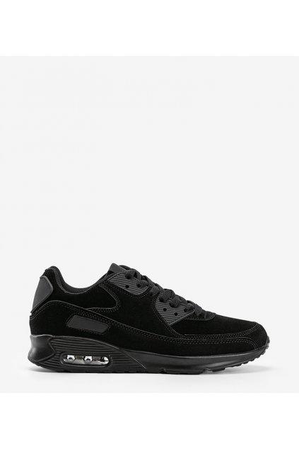 Pánske topánky tenisky čierne kód M7W-L2 - GM