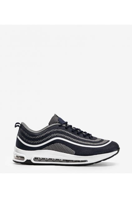 Pánske topánky tenisky modré kód M3239-7 - GM