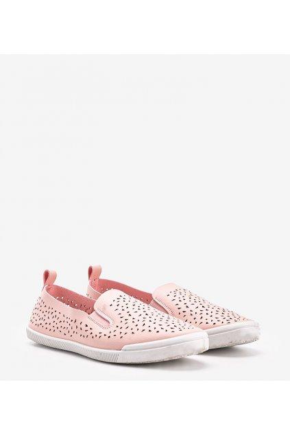 Dámske topánky tenisky ružové kód HC-9205 - GM