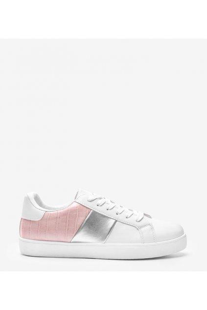 Dámske topánky tenisky biele kód BK925-11 - GM