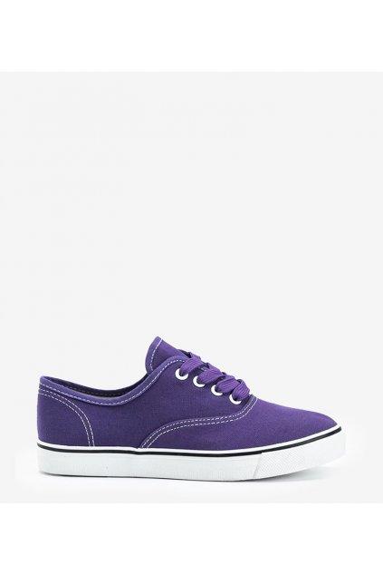 Dámske topánky tenisky fialové kód DTS92-12 - GM