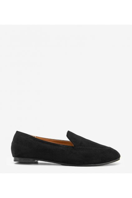 Dámske topánky mokasíny čierne kód HL-13 - GM