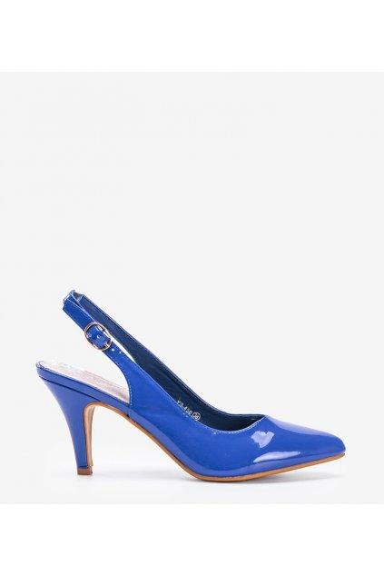 Dámske topánky lodičky modré kód YS-456 - GM