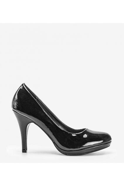 Dámske topánky lodičky čierne kód YS-432 - GM
