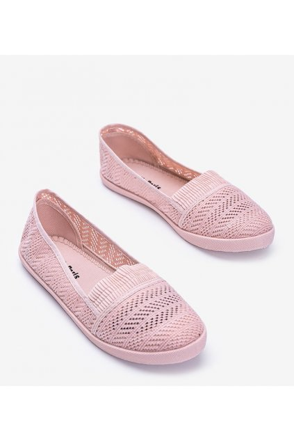 Dámske topánky tenisky ružové kód CB1711-82 - GM
