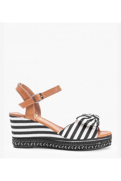 Dámske topánky sandále čierne kód LL-30 - GM