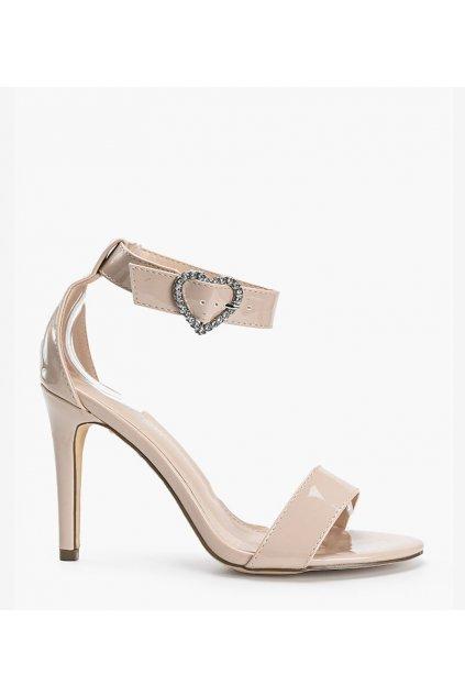 Dámske topánky sandále hnedé kód D85-24 - GM
