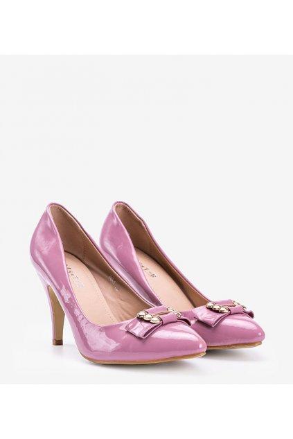 Dámske topánky lodičky fialové kód SO-5 - GM