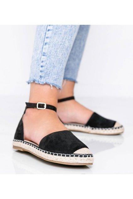 Dámske topánky sandále čierne kód LL6398 - GM