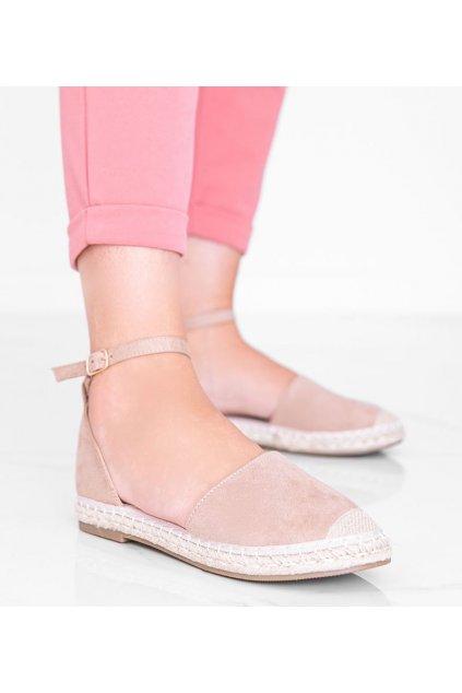 Dámske topánky sandále hnedé kód LL6398 - GM