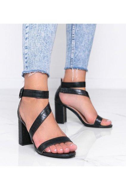 Dámske topánky sandále čierne kód S-901 - GM