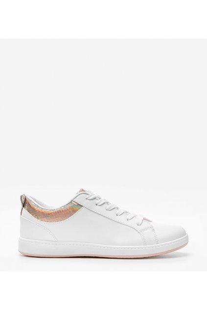 Dámske topánky tenisky biele kód 6304 - GM
