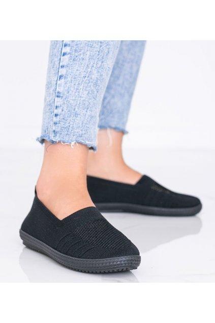 Dámske topánky tenisky čierne kód C018 - GM
