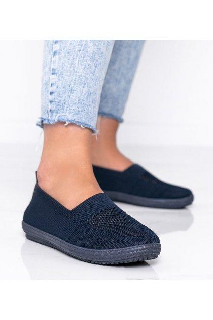 Dámske topánky tenisky modré kód C018 - GM