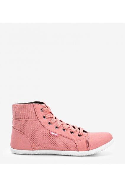 Dámske topánky tenisky ružové kód 021B - GM