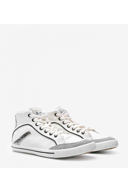 Pánske topánky tenisky biele kód A-186-2 - GM