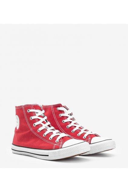 Pánske topánky tenisky červené kód CQ-1401 - GM