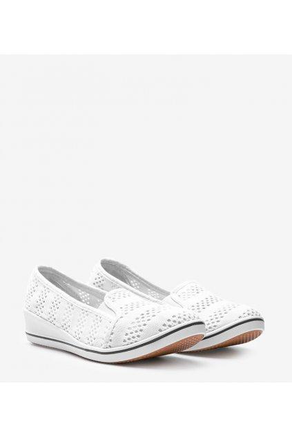 Dámske topánky tenisky biele kód 3164-2 - GM